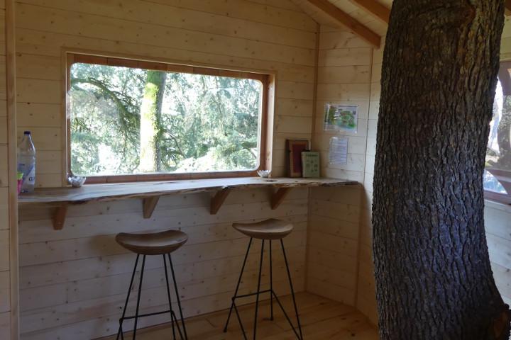 Cabane perchee arbre
