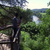 riviere cabane vue