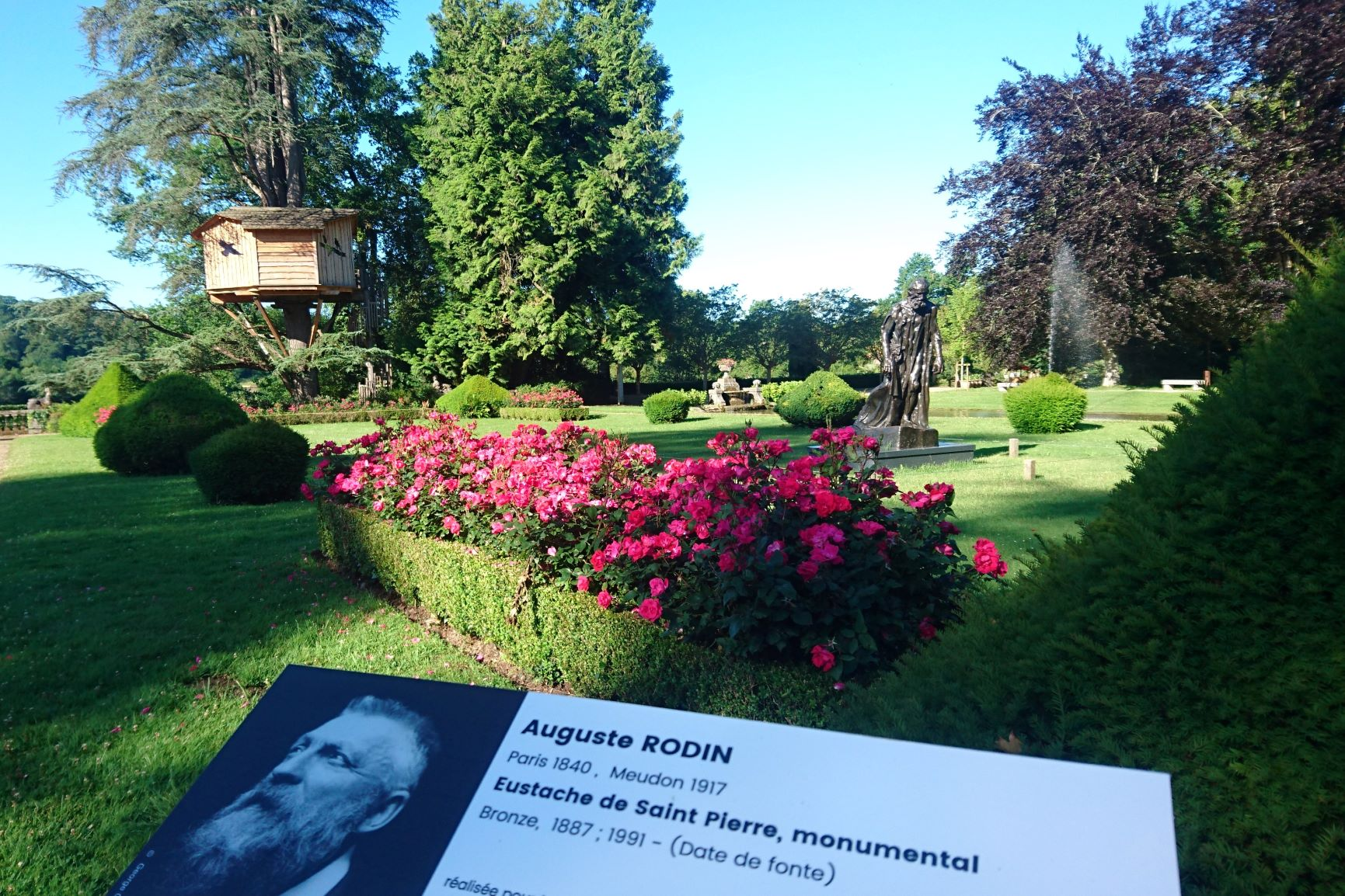 La Cabane des Pyrénées avec Rodin
